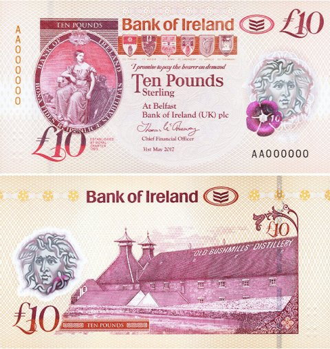 Bank-Of-Ireland-Bushmills-£10-2017-front-back