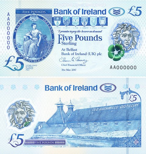 Bank-Of-Ireland-Bushmills-£5-2017-front-back
