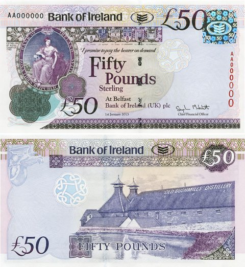 Bank-Of-Ireland-Bushmills-£50-2013-front-back