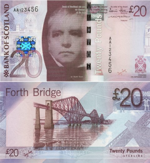 Bank of Scotland Bridge-£20-Front-Back