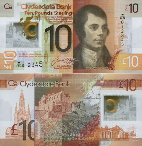 Clydesdale-Polymer-£10-Front-Back